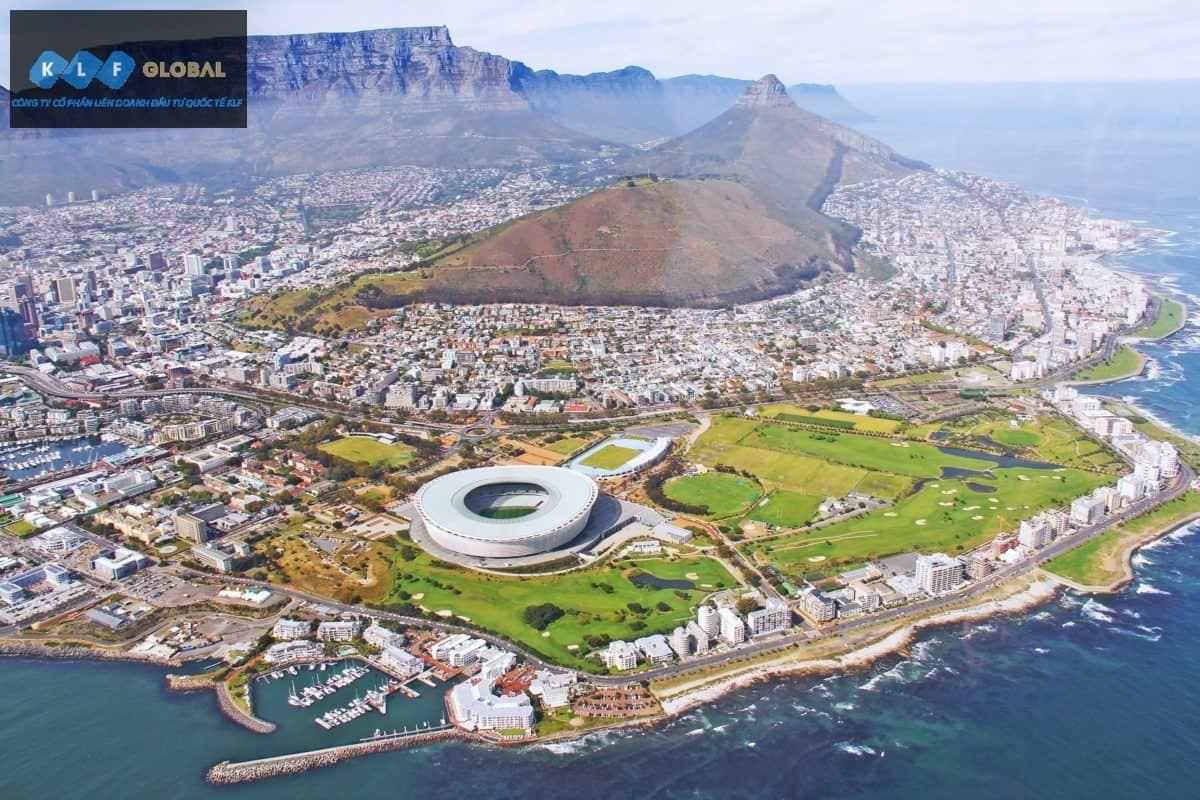 Cape Town nhìn từ trên cao đẹp lạ lùng