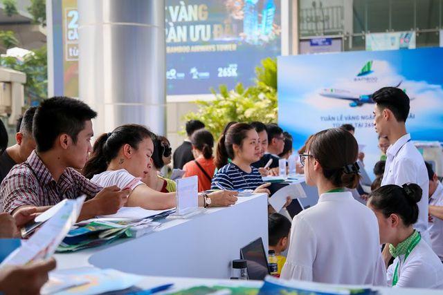 """""""Bão tour"""" của KLF Travel nhận được sự quan tâm đông đảo của khách hàng"""
