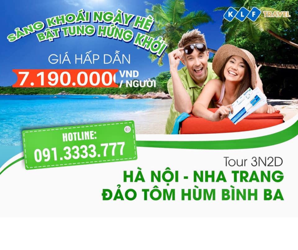 Ngây ngất vẻ đẹp hoang sơ Đảo tôm hùm Bình Ba - Tour Nha Trang - Bình Ba 3N2D