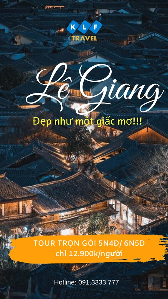 Tour Lệ Giang – Shangrila 6N5D đẹp như một giấc mơ chỉ 13.900K
