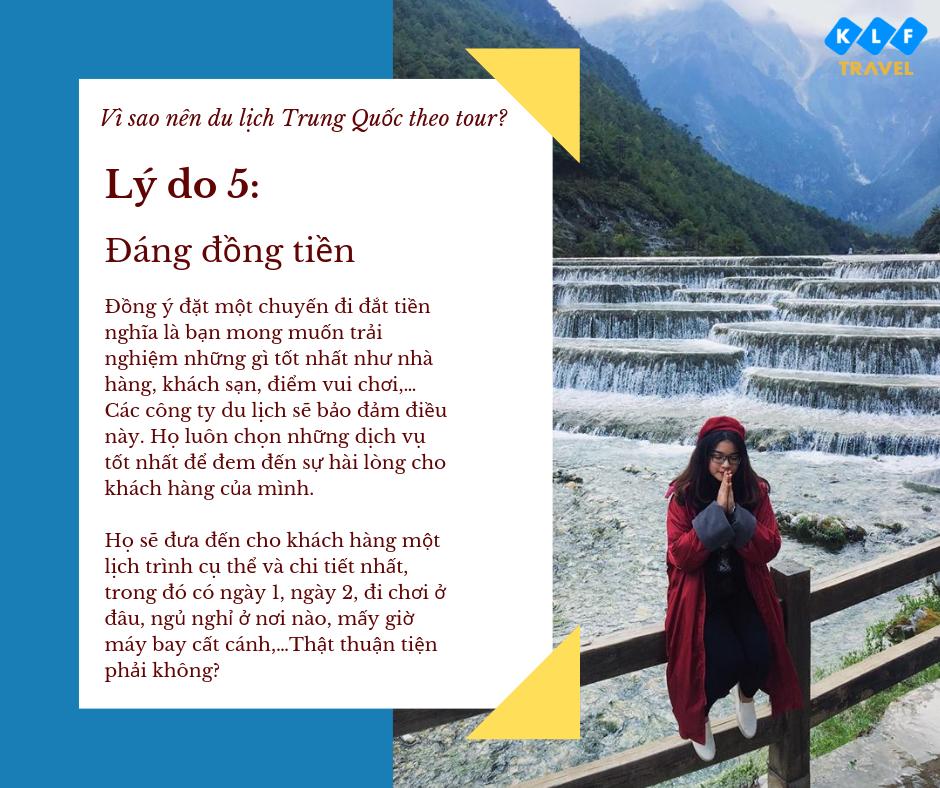 7 lý do vì sao nên đi tour khi đi du lịch Trung Quốc