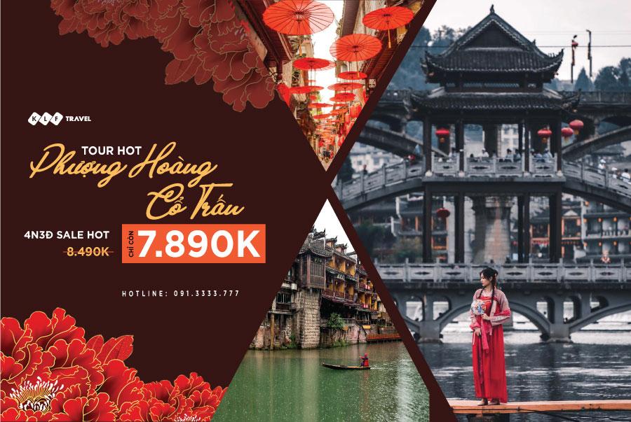 Đến với trấn cổ đẹp bậc nhất xứ Trung: Tour Phượng Hoàng Cổ Trấn 4N3D